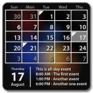 Виджет Календарь (ключ)